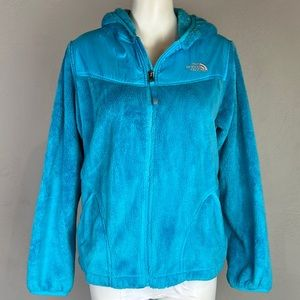 The North Face Fuzzy Cozy Zip Jacket Teal M